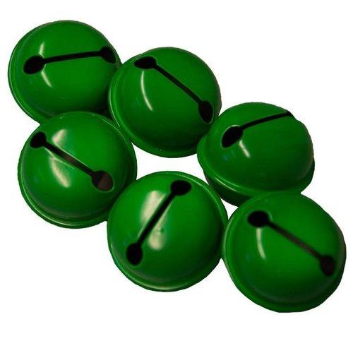 Narrenbellen groen 17mm