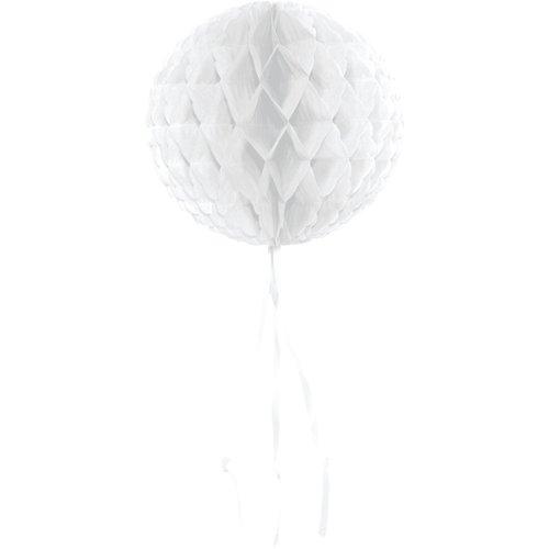 Decoratie bal wit 30 cm