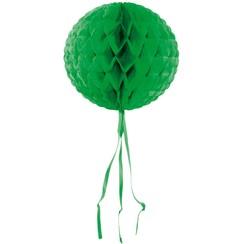 Decoratie bal groen 30 cm