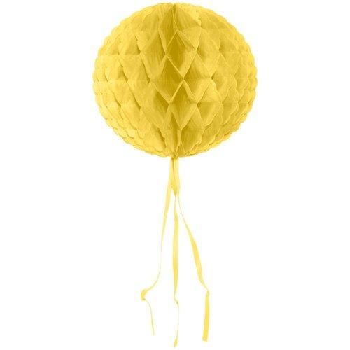 Decoratie bal ivoor wit 30 cm