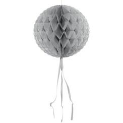 Decoratie bal zilver 30 cm