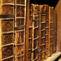Deursticker boeken 90 x 200 cm