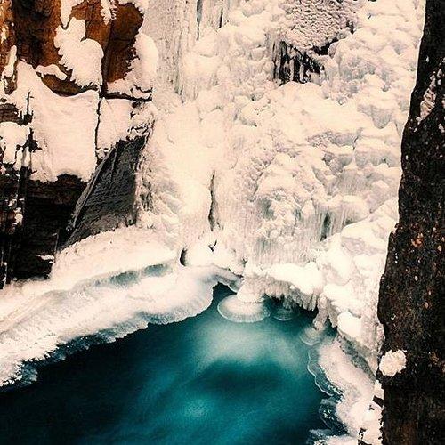 Deursticker gletsjer 90 x 200 cm