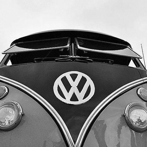 Deursticker VW camper 90 x 200 cm