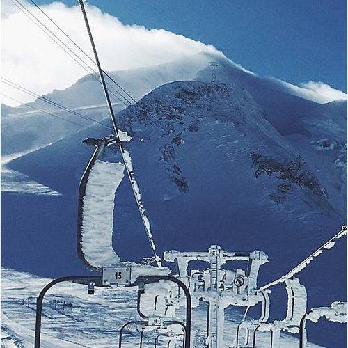 Deursticker skilift 90 x 200 cm