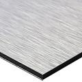 Foto op brushed aluminium 30 x 40 cm