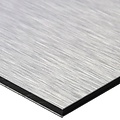 Foto op brushed aluminium 40 x 60 cm