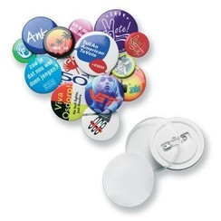 Buttons met full colour print