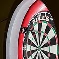 Led dart verlichting Bull's zwart