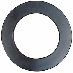 Surround voor dartboard zwart
