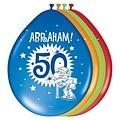 Ballonnen Abraham 30 cm 8 stuks