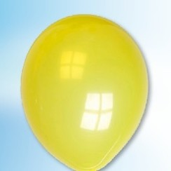 Ballon kristalgeel ø 30 cm 100 stuks