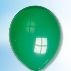 Ballon smaragdgroen ø 30 cm 100 stuks