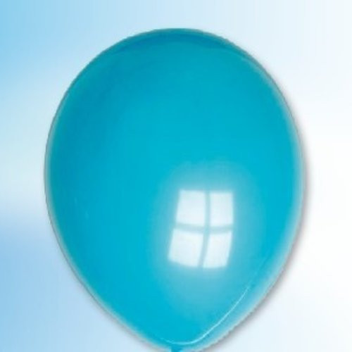 Globos Ballon zeegroen ø 30 cm 100 stuks