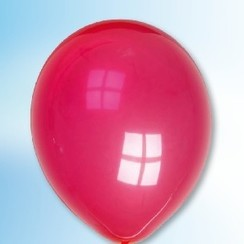 Ballon donkerviolet ø 30 cm 100 stuks
