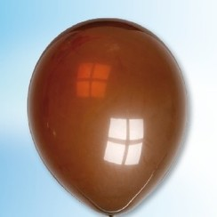 Ballon chocoladebruin ø 30 cm 100 stuks
