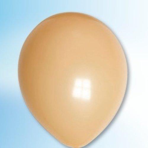 Globos Ballon lichtbruin ø 30 cm 100 stuks