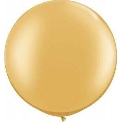 Globos Reuze ballon metallic goud 60 cm