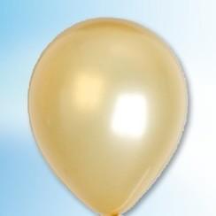 Ballon metallic goud ø 30 cm 100 stuks