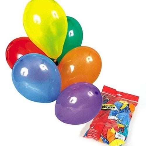 Globos Ballon diverse kleuren ø 25 cm 100 stuks