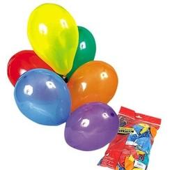 Ballon diverse kleuren ø 30 cm 100 stuks