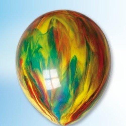 Ballon multicolor ø 30 cm 100 stuks
