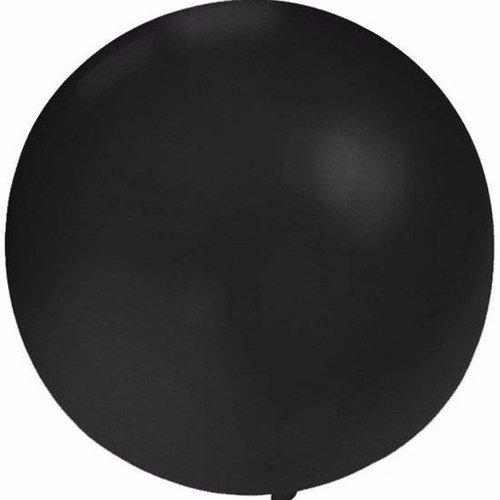 Reuze ballon zwart 90 cm
