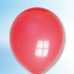 Ballon rood ø 12,5 cm 100 stuks