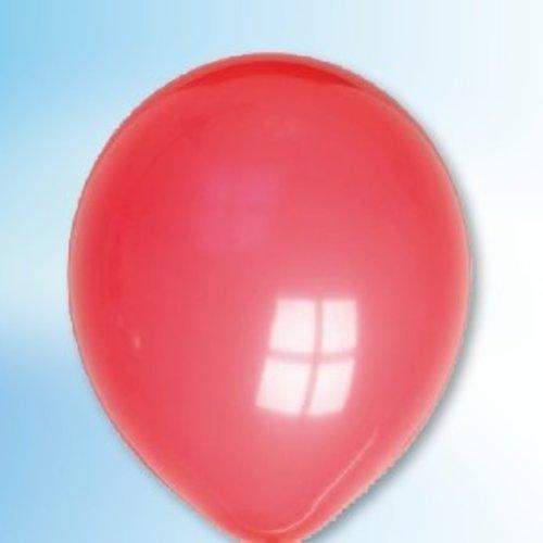 Globos Ballon rood ø 12,5 cm 100 stuks
