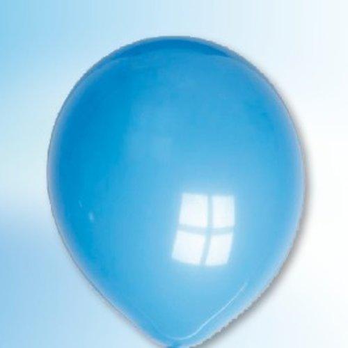 Globos Ballon donkerblauw ø 12,5 cm 100 stuks