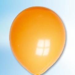 Ballon oranje ø 12,5 cm 100 stuks