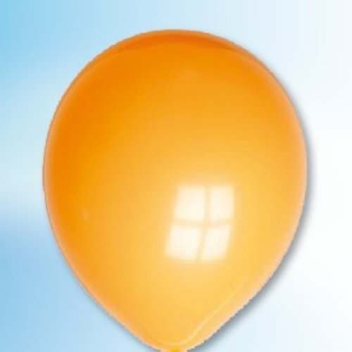 Globos Ballon oranje ø 12,5 cm 100 stuks