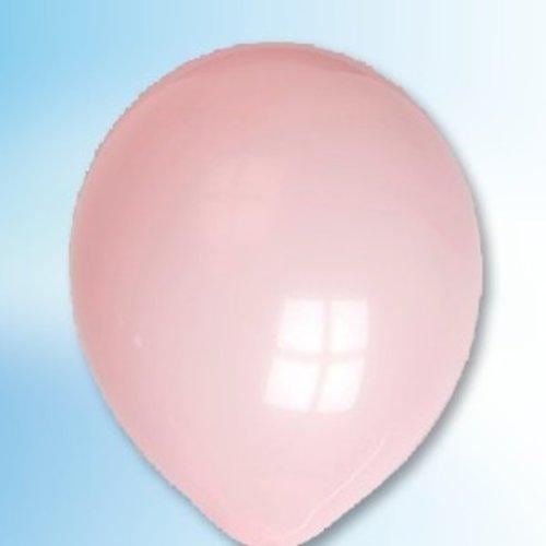 Globos Ballon roze ø 12,5 cm 100 stuks