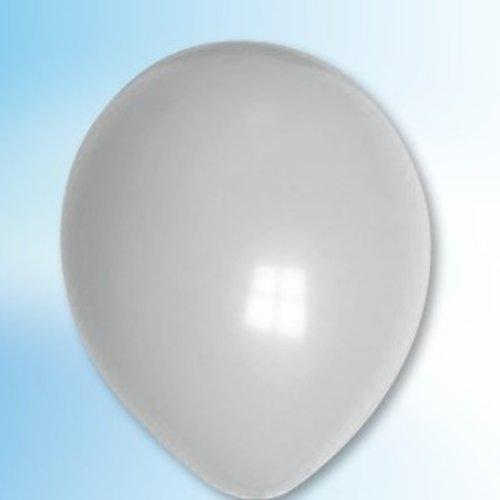 Globos Ballon grijs ø 12,5 cm 100 stuks