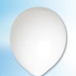 Ballon wit ø 30 cm 100 stuks