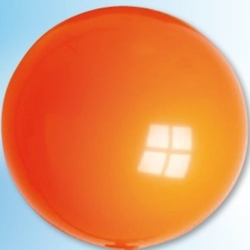 Mega ballon oranje ø 90 cm 6 stuks