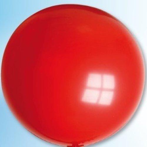 Mega ballon rood ø 90 cm 6 stuks