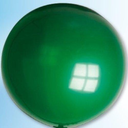 Mega ballon groen ø 90 cm 6 stuks