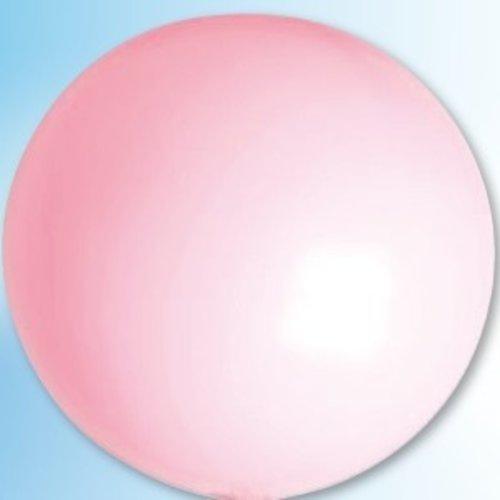 Mega ballon roze ø 90 cm 6 stuks