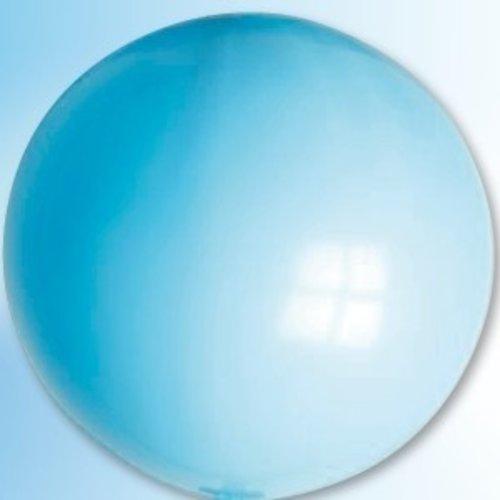 Mega ballon lichtblauw ø 90 cm 6 stuks