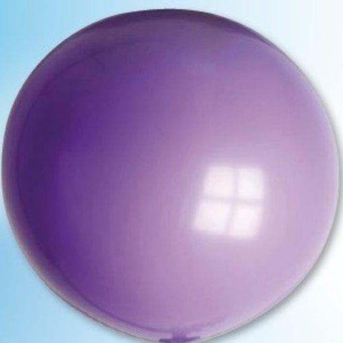 Mega ballon violet ø 90 cm 6 stuks