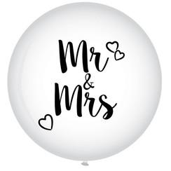 Ballon Mr & Mrs ø 60 cm