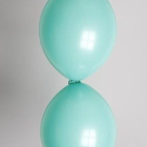 Globos Doorknoopballon groen ø 3 0cm 100 stuks