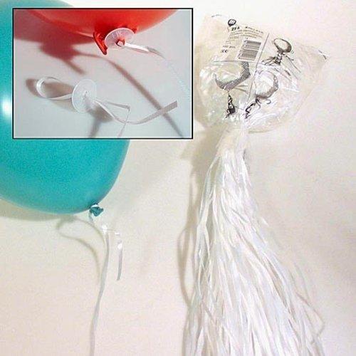 Ballonsluiters met lint 100 stuks