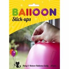 Ballon stick-ups 20 stuks