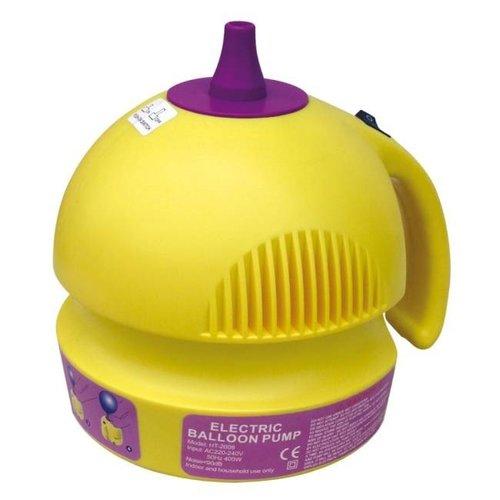 Elektrische ballonpomp geel 400W