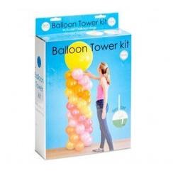 DIY Ballonnen pilaar