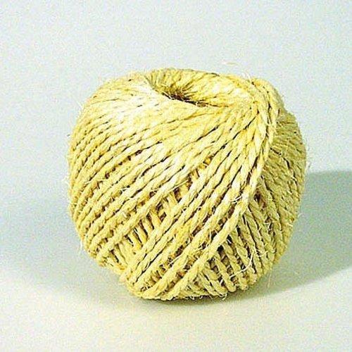 Sisal touw 2 draads 200 gr