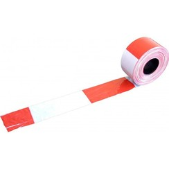 Afzetband rood-wit 500m