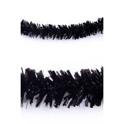 Folie slinger zwart pvc 10 m brandveilig